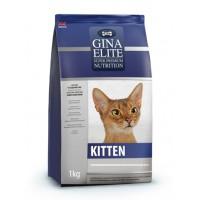 Полнорационный корм высшей категории качества для котят Gina (Джина) Elite Kitten пр-во Англия