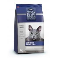 Корм для взрослых кошек GINA (Джина) Elite ADULT CAT Chicken & Rice