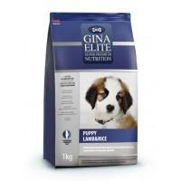 Полнорационный корм высшей категории качества для щенков с ягненком и рисом Gina (Джина) Elite Puppy Lamb & Rice