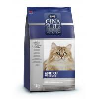 Корм  для стерилизованных котов и кошек Gina (Джина) Elite ADULT CAT Sterilized