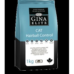 Корм для выведения комков шерсти из желудочно-кишечного тракта кошек Gina (Джина) Elite Cat Hairball Controll