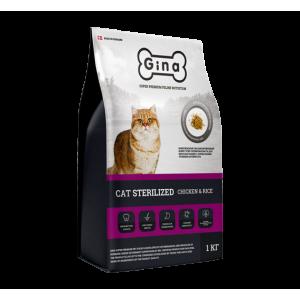 Корм для взрослых кошек с нормальным уровнем активности Cat Sterilized Chicken & Rice
