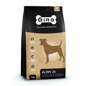 Комплексный сбалансированный корм высшей категории качества для щенков, беременных и кормящих сук Gina (Джина) Puppy 28 Denmark