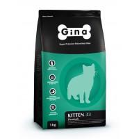 Сухой корм для котят, беременных и кормящих кошек Корм для хорьков Gina (джина) Kitten 33