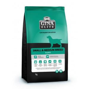 Сухой корм для щенков мелких и средних пород Gina (Джина) Elite Small Puppy