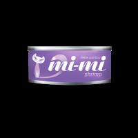 Консервы для кошек  с креветками Mi-Mi 80 гр