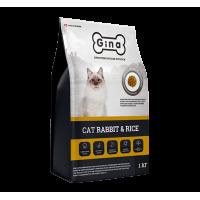Полнорационный сбалансированный корм супер-премиум класса для кошек с нормальным уровнем активности Cat Rabbit & Rice