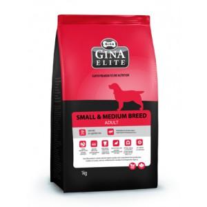 Сухой корм для взрослых собак мелких и средних пород Gina (Джина) Elite Small Dog Adult